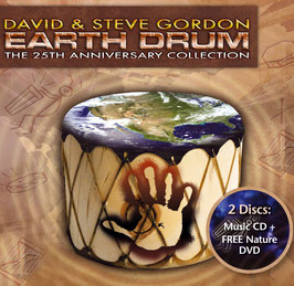 DAVID & STEVE GORDON Earth Drum CD+DVD