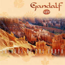 GANDALF Colours Of The Earth CD / Guitar Music