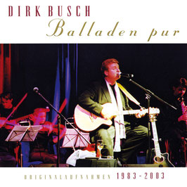 DIRK BUSCH Balladen Pur CD