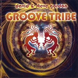 DAVID & STEVE GORDON Groove Tribe CD / Indian Drums / Native Flutes