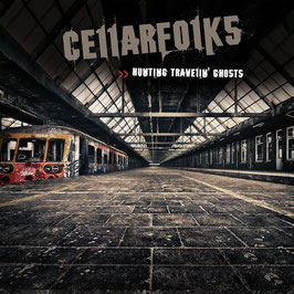 CELLARFOLKS  Hunting Travelin' Ghosts CD / Irish Folk Rock