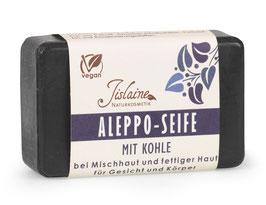 Aleppo-Seife mit Kohle