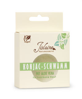 Konjac-Schwamm mit Aloe Vera