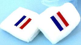 Schweißband Holland weiß