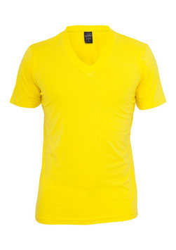 Urban Classics V-Neck Shirt gelb