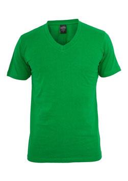 Urban Classics V-Neck Shirt grün