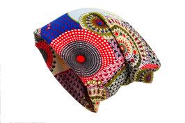 Jersey Beanie Mütze Fantasie Rot