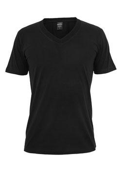 Urban Classics V-Neck Shirt schwarz