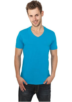 Urban Classics V-Neck Shirt türkis