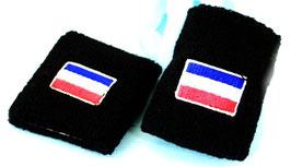 Schweißband Holland schwarz