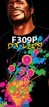 FUYA T-Shirt DJ LIFE BREAKDANCE