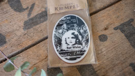 """Vintage Best Wishes"" Gummistempel"
