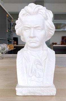 Ludwig van Beethoven Büste aus Alabaster-Modellgips + 8 kostenlose Zugaben**