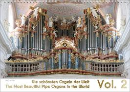 """Orgelkalender """"Die schönsten Orgeln der Welt Vol. 2"""", DIN A2"""