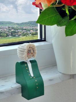 Johann Sebastian Bach Figur als Kantenhocker