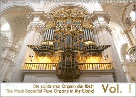 """Orgelkalender """"Die schönsten Orgeln der Welt Vol. 1"""", DIN A4"""