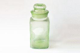 ウランガラス/分銅紋の飴屋瓶