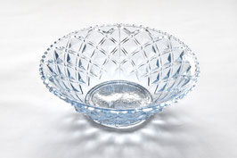 プレスガラス/水色鉢