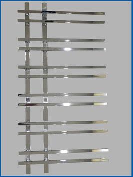 Designbadheizkörper VENTO Hochglanz Chrom  1200 x 550 mm.