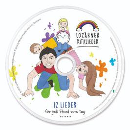 """CD """"Lozärner Kitalieder - 12 Lieder för jedi Stond vom Tag"""" inkl. 2 Bonustracks"""