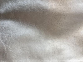 Leather look silver