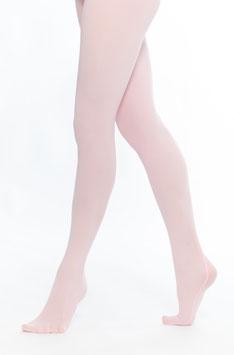 Strumpfhose mit Fuß in rosa