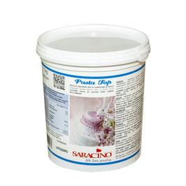 Rollfondant / Pasta Top von Saracino 1 kg weiß