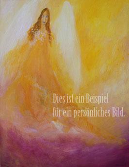 Dein Engelbild in Farbe - auf Leinwand