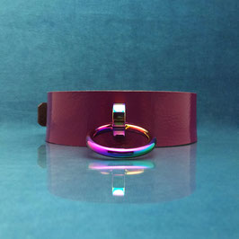 Rainbow Ray - Purple O-Ring Collar