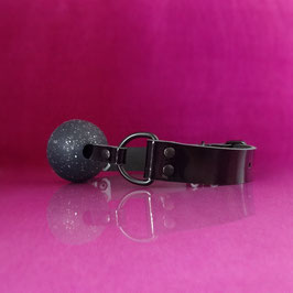 Ball Gag - Glitter - Black