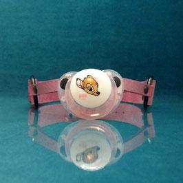 Bambi - Pink Pacifier Gag