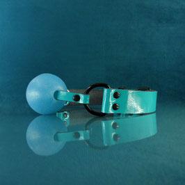 Ball Gag - Glitter - Light Blue