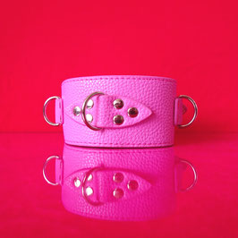 SUBstantial - Pink Vegan Collar