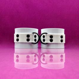 PVC Cuffs - White