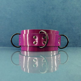Candy Collar - Purple D-Ring Collar