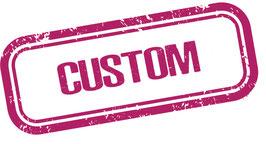 Custom leash - Metallic pink