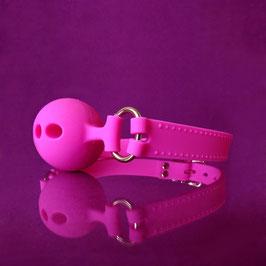 Ball Gag - Pink Silicone