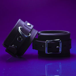 Silicone Chaperone - Black Silicone Cuffs