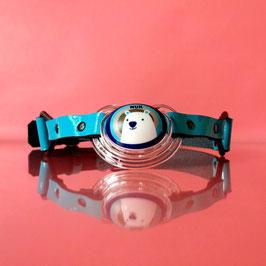 Blue Bear - Light Blue Pacifier Gag