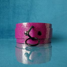 Candy Collar - Purple Glitter