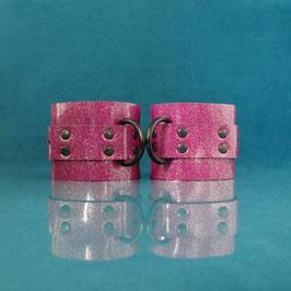 Candy Cuffs - Glitter Purple