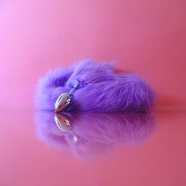 Chinchilla - Purple Tail - Metal Plug
