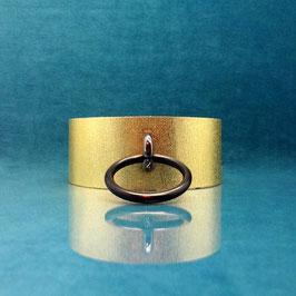 Candy Collar - Gold O-ring Collar