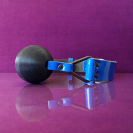 Ball Gag - Glitter - Royal Blue
