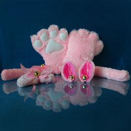 Faux Paw - Pink Kitty Set