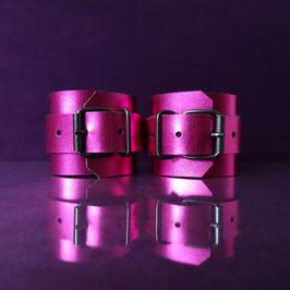 Candy Cuffs - Metallic Purple