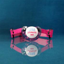 Little Princess - Pink Pacifier Gag