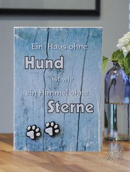 """Shabby Chic Schild -""""Hund 6"""""""