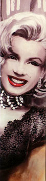 Marilyn with red Lips