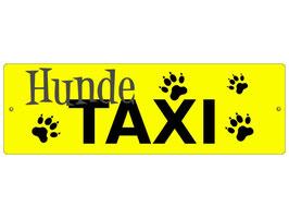 "Auto-Schild ""Hundetaxi"""